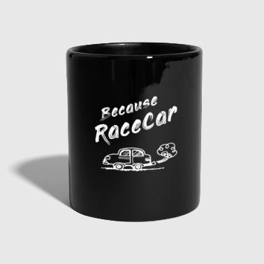 Car, course automobile - cadeau - Mug uni
