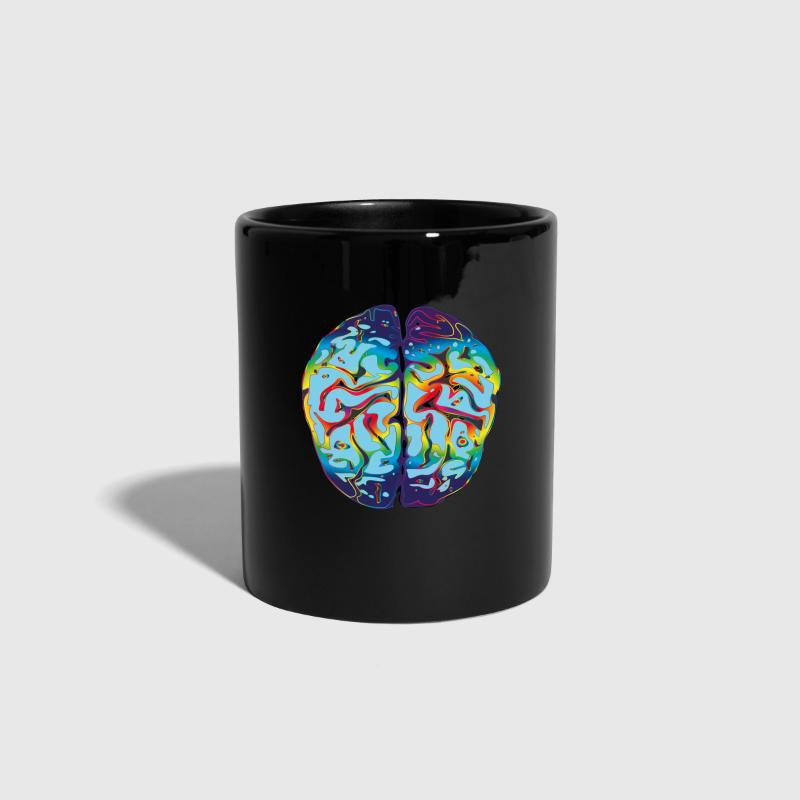 cerebro LSD - Taza de un color