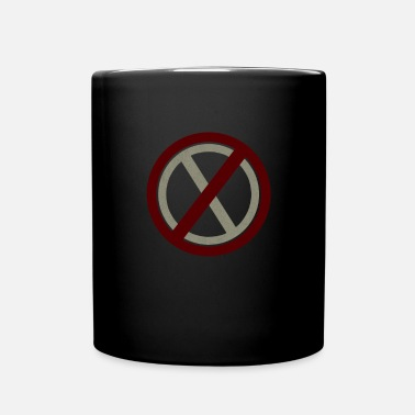 Prohibited Prohibitions prohibit warning signs and signs - Mug