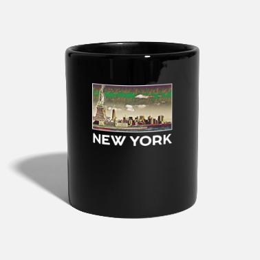 Klasse New York Stadt Skyline USA Roadtrip Trip US - Tasse einfarbig
