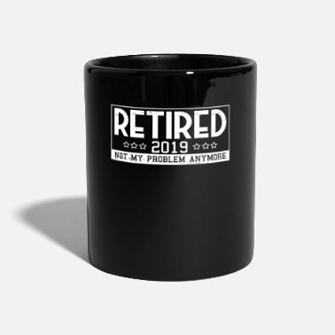 Pensioner Pension 2019 No problems pension pension - Full Colour Mug