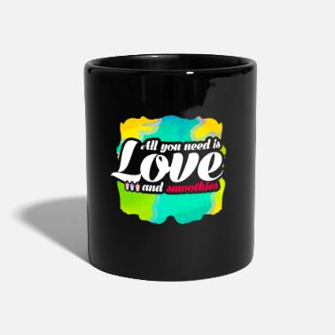 All you need is love and smoothies Obst Fan Design - Tasse