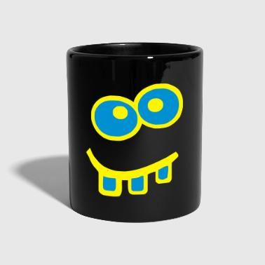 Blue Monster Halloween Carnival Monster Funny - Tazza monocolore