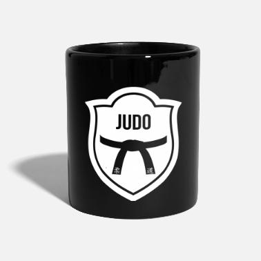 Judo Judo / Judoka / Sport / fight / fighter - Taza de un color