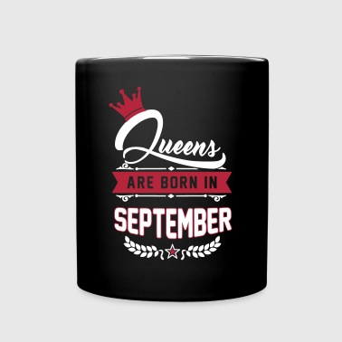 Queens are born in September - Mug uni