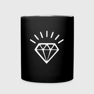 diamants éclat - Mug uni