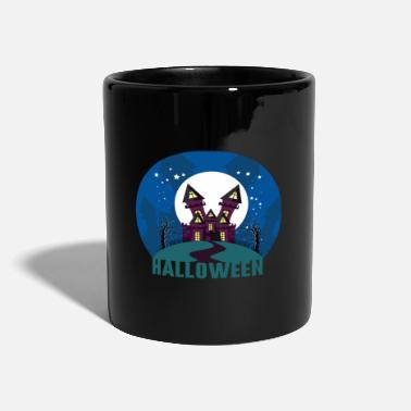 Haunted House Halloween haunted house haunted house - Full Colour Mug