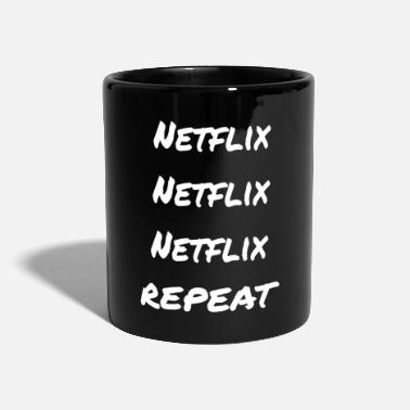 Netflix Netflix Netflix Netflix Repeat - Full Colour Mug