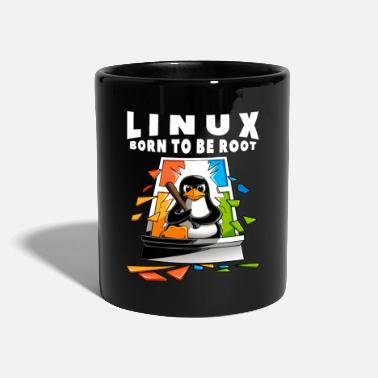 Linux Linux - Window Crash Illustration - Mok