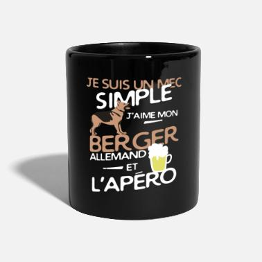 Allemand Un mec simple - mon berger allemand - Mug