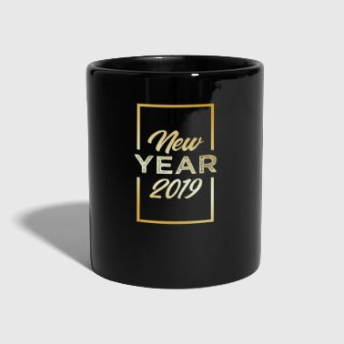 Number New Year's Eve 2019 New Year's Gift Year Festive Party - Full Colour Mug