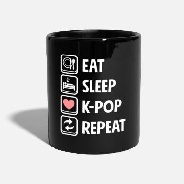 Répétition Kpop de Kawaii Cute Eat Sleep - Mug