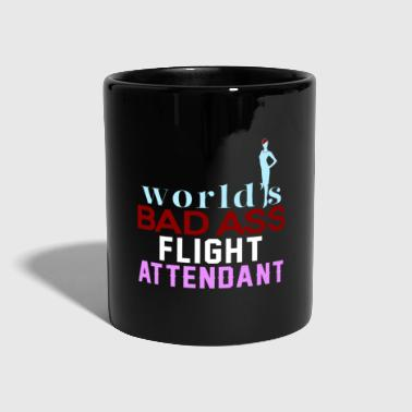 Flight Attendant flight attendant - Full Colour Mug