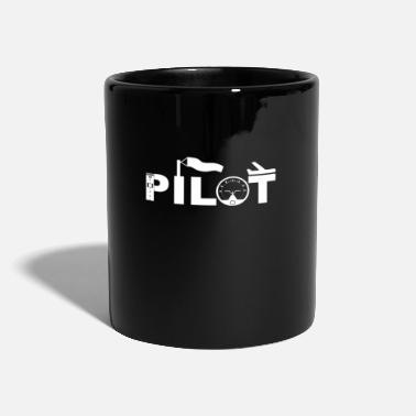 Aviation pilot aviation airplane runway aviation - Mug