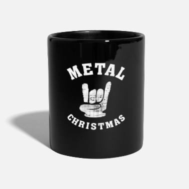 Edvent Heavy Metal Christmas Hard Rock - Ensfarvet krus