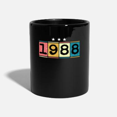 1988 1988 - Taza de un color