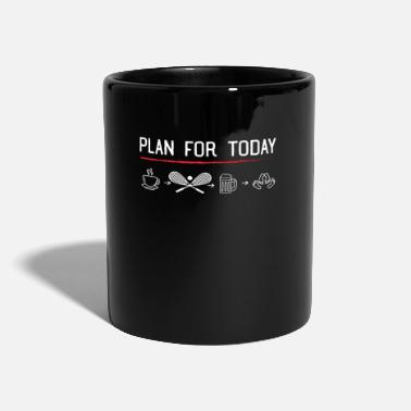Squash Court Squash is the Plan - Squash Court, Tennis Gift - Mug