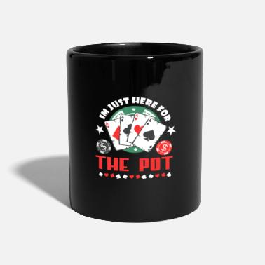 Poker Carte de joueur Poker Pott Money Bluffer - Mug