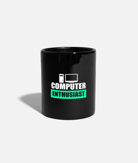 Computers Mugs & Drinkware - computer - Mug black