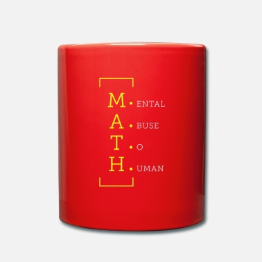 Psychic Math psychic abuse of people - Mug