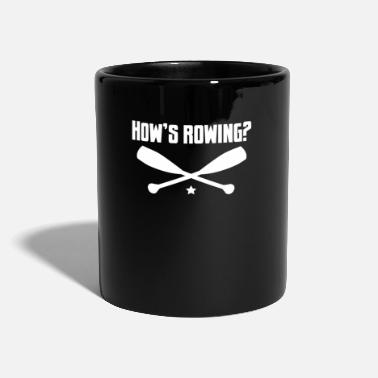 Kayak How is rowing? - Boat, yacht, captain, sailing - Mug