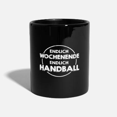 Tir En Suspension Handball Player Saying Funny club de handball - Mug