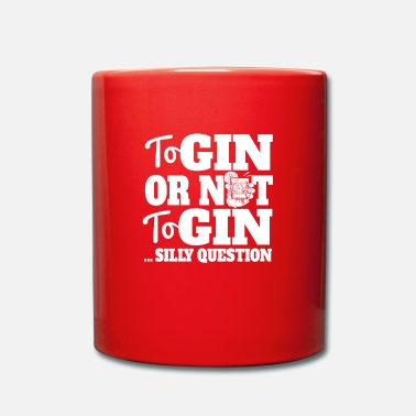 Clubbers Gin or Distress Funny Question Lover Design - Mug
