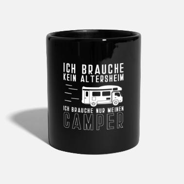 Retirement Home Retirement Home Camper Camping Caravan Retirement - Mug