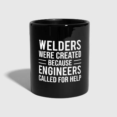 Soldador Funny Welders Engineers Broma camiseta de soldadura - Taza de un color