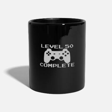 50th Birthday 50th Birthday & Gamer Gift Idea - Full Colour Mug