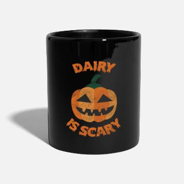 Dierenactivisten Dairy is Scary Vegan Veganism Pumpkin - Mok