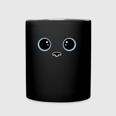 Yeux chat kawaii - Mug uni