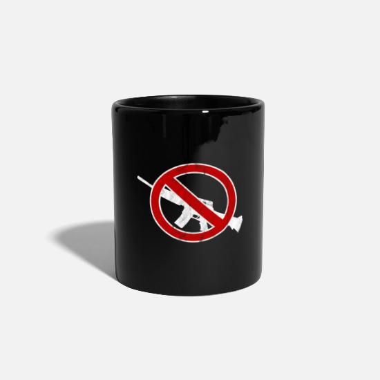 Interdiction Mugs et récipients - Arme | Interdiction | Pistolet | Look usagé - Mug noir