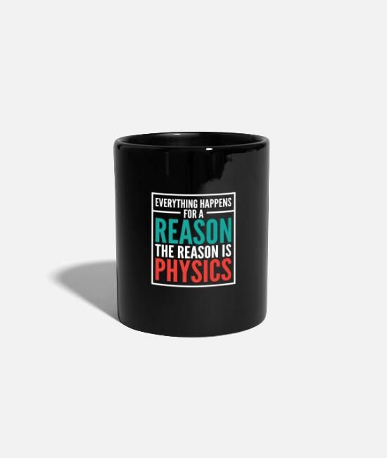 Major Subject Mugs & Drinkware - Physics Gift Shirt - Mug black