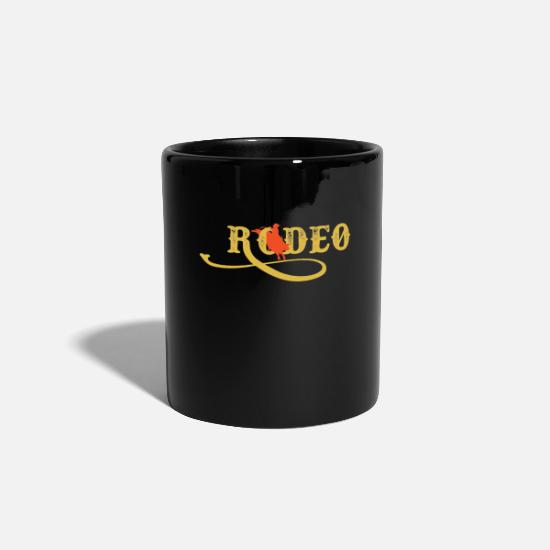 Gift Idea Mugs & Drinkware - rodeo - Mug black