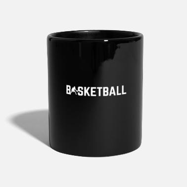Basketball Player Basketball with basketball player - Full Colour Mug