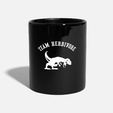 Vegan, Team Herbivore, T Rex, Statement - Tazza monocolore