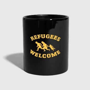 Refugees Welcome - Kubek jednokolorowy