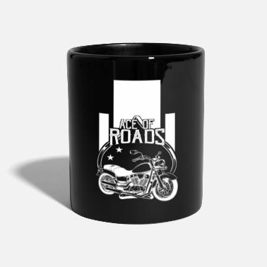 Motor Sport Roads Motorcycle Motor sport - Full Colour Mug