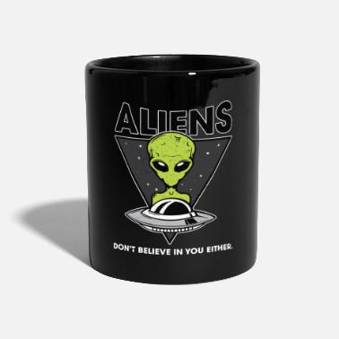 Sciencefiction Aliens ScienceFiction UFO Fan Geschenkidee - Tasse