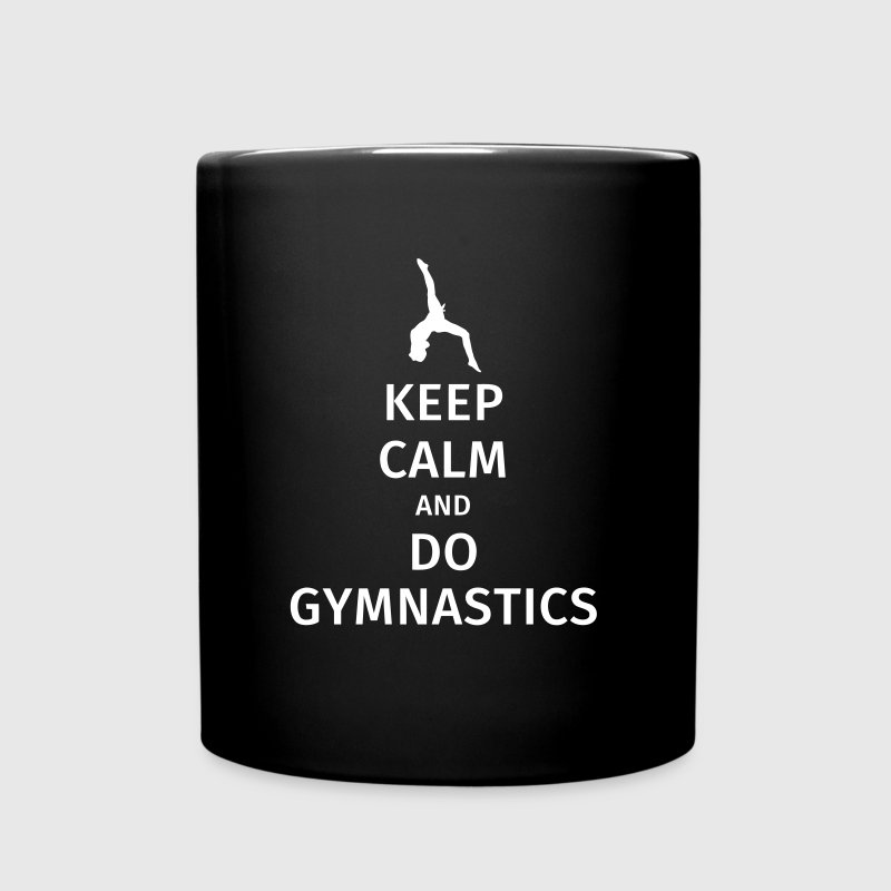 keep calm and do gymnastics - Full Colour Mug