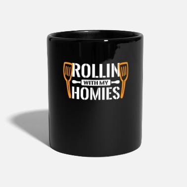 Kanji Rollin with my Homies - Sushi Japanese - Mug