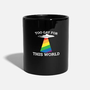 Marry Too gay for this world - gay lesbian - Mug