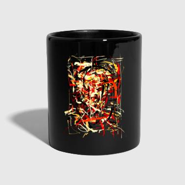 ink face - Full Colour Mug