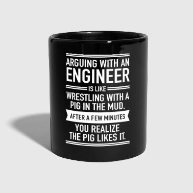 Arguing With An Engineer... - Full Colour Mug