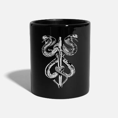 Romanesque Snake Sword Gothic Fashion Cool Fun Romanesque Metal - Mug