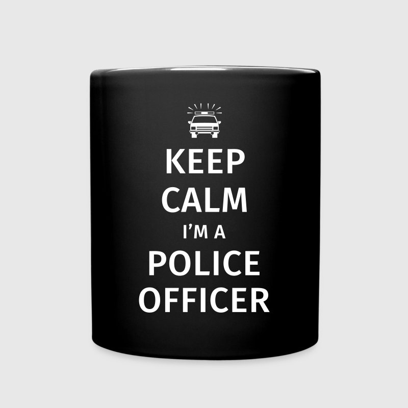 Keep Calm I'm A Police Officer - Tasse einfarbig
