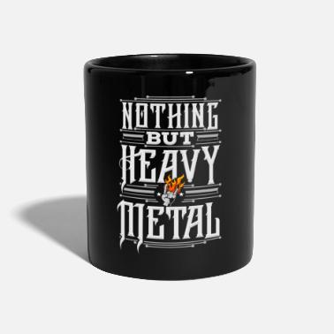 Metal Nada más que Heavy Metal - Taza de un color