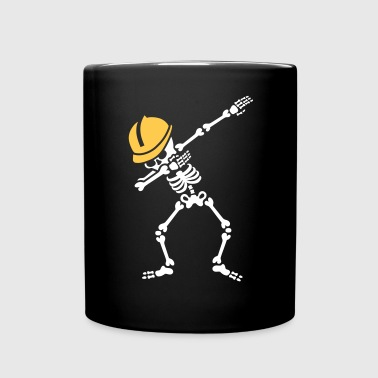 Dab skeleton dabbing construction worker  enginer - Tazza monocolore