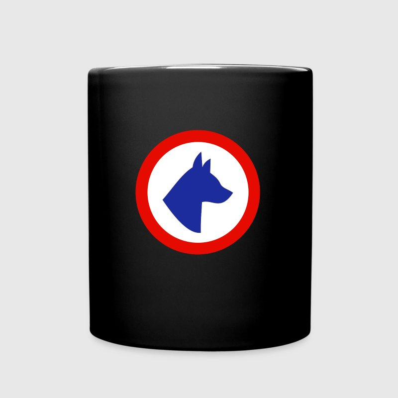 cocarde chien France - Mug uni